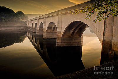 The Magic Hour At Ladybower Poster