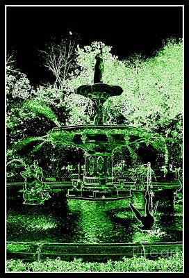 Green Savannah Poster