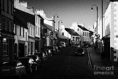 the main through road in Ballycastle Ann Street county antrim northern ireland Poster by Joe Fox