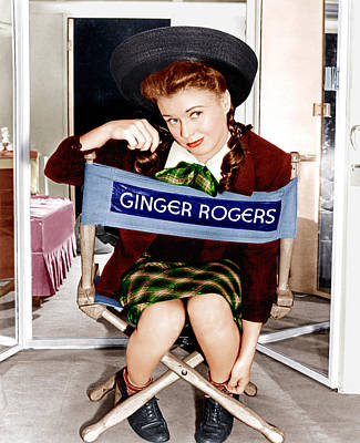 The Major And The Minor, Ginger Rogers Poster by Everett