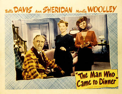 The Man Who Came To Dinner, Monty Poster