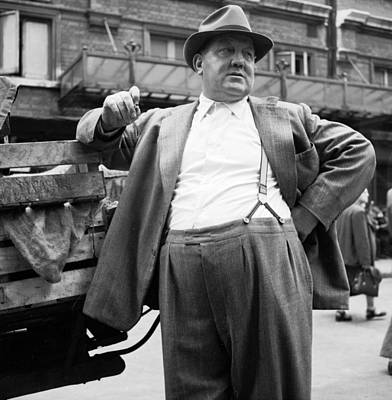 The Market Man Poster by Bert Hardy