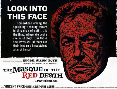 The Masque Of The Red Death, Vincent Poster by Everett