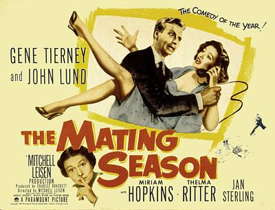 The Mating Season, John Lund, Gene Poster by Everett