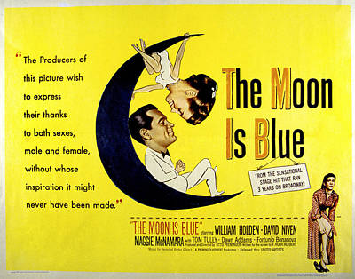 The Moon Is Blue, Poster Art, Maggie Poster