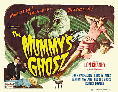 The Mummys Ghost, Top From Left Lon Poster