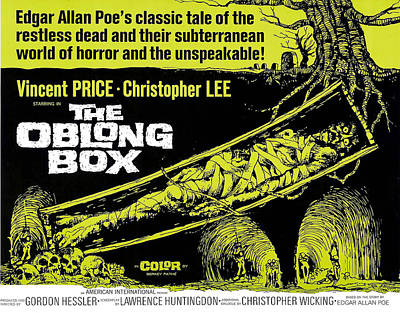 The Oblong Box, 1969 Poster by Everett
