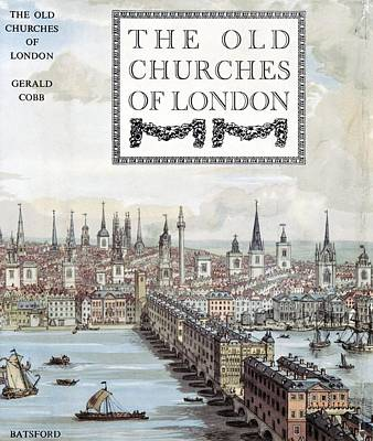 The Old Churches Of London, 1942 Book Poster by General Research Divisionnew York Public Library