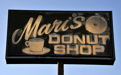 The Old Donut Shop Poster by David Lee Thompson