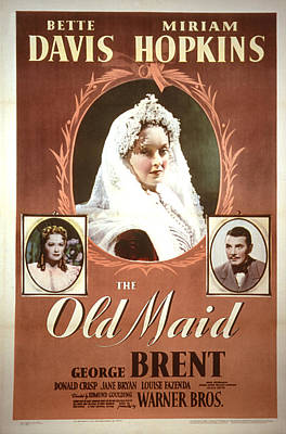 The Old Maid, Miriam Hopkins, Bette Poster