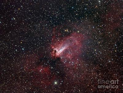 The Omega Nebula Poster by Filipe Alves
