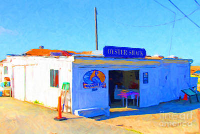 The Oyster Shack At Drakes Bay Oyster Company In Point Reyes . 7d9833 Poster