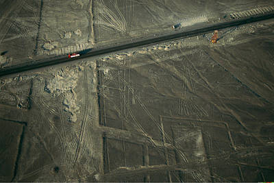 The Pan-american Highway Cuts Poster by Joel Sartore
