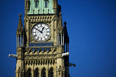 The Peace Tower, On Parliament Hill Poster