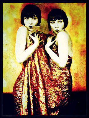 Poster featuring the photograph The Pearl Twins by Mary Morawska