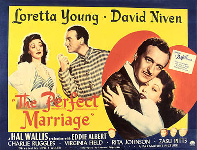 The Perfect Marriage, Loretta Young Poster by Everett