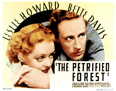 The Petrified Forest, Bette Davis Poster