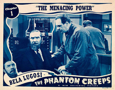 The Phantom Creeps, Chapter 1 The Poster