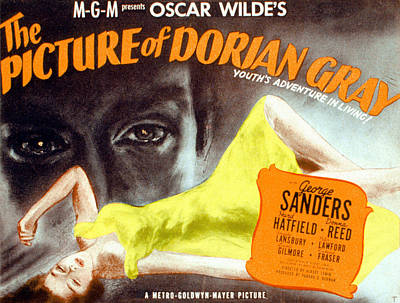 The Picture Of Dorian Gray, 1945 Poster by Everett