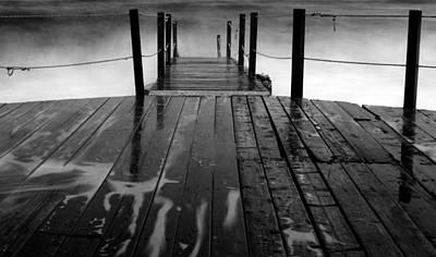 The Pier...protaras Poster by Stelios Kleanthous