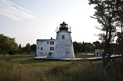 The Piney Point Lighthouse Poster by Bill Cannon