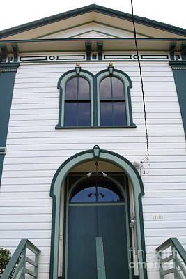 The Potter School House . Bodega Bay . Town Of Bodega . California . 7d12480 Poster