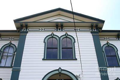 The Potter School House . Bodega Bay . Town Of Bodega . California . 7d12482 Poster