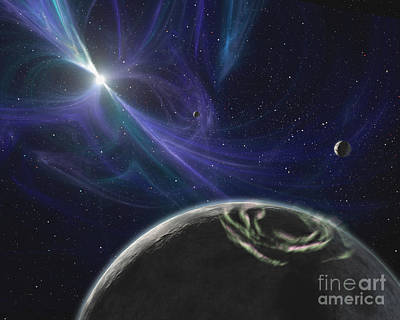 The Pulsar Planet System Poster