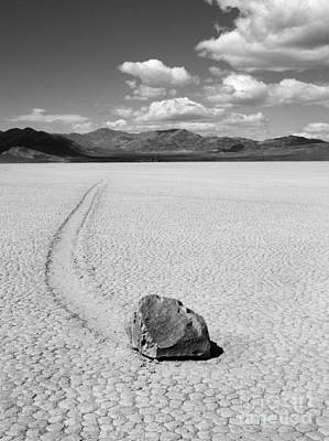 Death Valley California The Racetrack 2 Poster by Bob Christopher