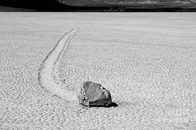 Death Valley California The Racetrack 3 Poster by Bob Christopher