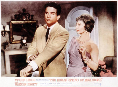 The Roman Spring Of Mrs. Stone, Warren Poster