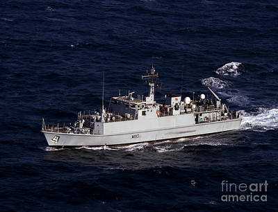 The Royal Navy Mine Countermeasures Poster