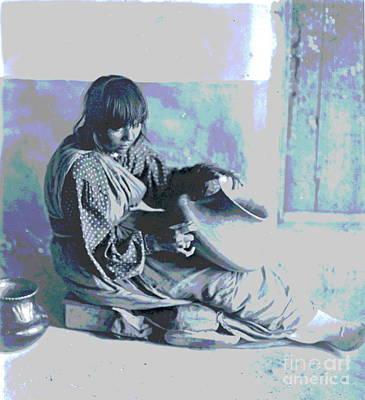 The Santa Clara Potter Poster by Padre Art