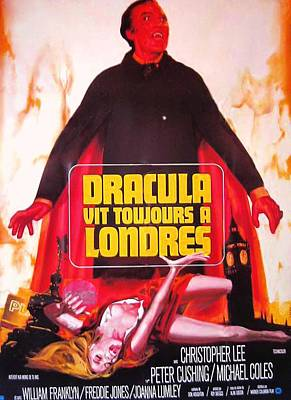 The Satanic Rites Of Dracula, Aka Poster