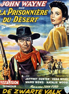 The Searchers, Aka La Prisonniere Du Poster by Everett