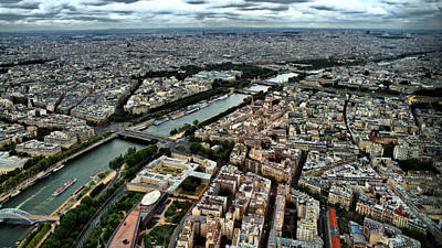 Poster featuring the photograph The Seine River 2 by Edward Myers