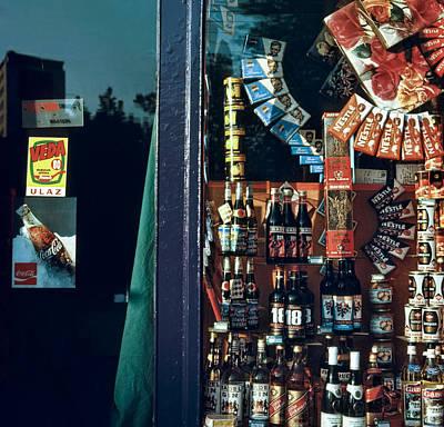 The Socialism Of Abundance. Belgrade. Serbia Poster by Juan Carlos Ferro Duque