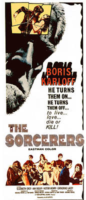 The Sorcerers, Boris Karloff, 1967 Poster by Everett