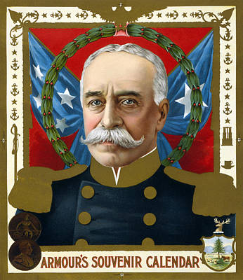 The Spanish American War. Portrait Poster
