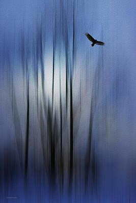 The Spirit Messenger Poster by Ron Jones