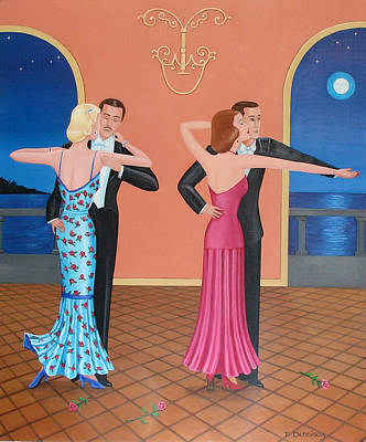The Tango Poster by Tracy Dennison
