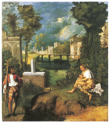 The Tempest Poster by Giorgione