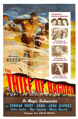 The Thief Of Bagdad, Rex Ingram, 1940 Poster by Everett