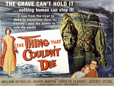 The Thing That Wouldnt Die, Andra Poster