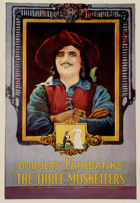 The Three Musketeers, Douglas Poster by Everett