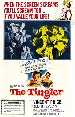 The Tingler, Bottom Vincent Price Poster