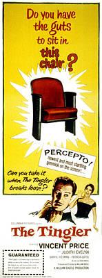 The Tingler, Vincent Price, Patricia Poster