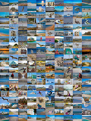 The Topsail Island 200 Poster by Betsy Knapp