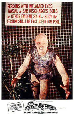 The Toxic Avenger, Mitch Cohen, 1985 Poster