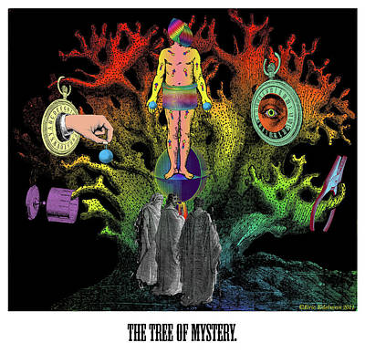 The Tree Of Mystery Poster by Eric Edelman